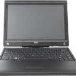 Dell's Latitude XT up close — a bit too close